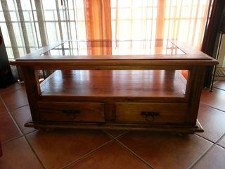 Muebles rústicos. Mesa rústica mexicana