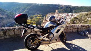 moto kawasaki er6f . limitada permiso A2