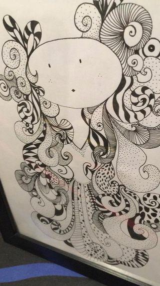 ilustración hada princesa
