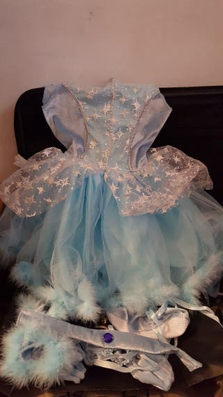Disfras Elsa frozen 3 a 4 años