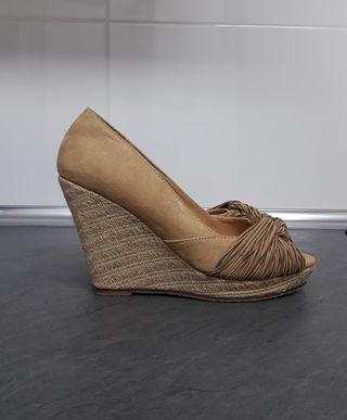 Zapatos cuñas
