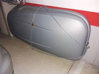 Arcón cofre techo coche