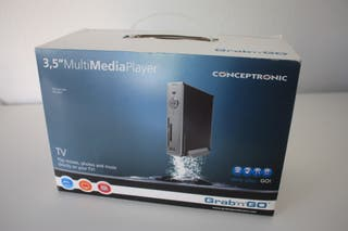 Reproductor Multimedia Conceptronic Grab´n´GO