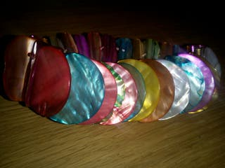 pulsera de colores
