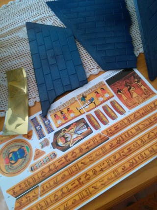 piramide playmobyl piezas