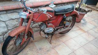 moto GUZZI DINGO 49cc antigua