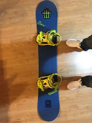 Tabla snowboard alta gama nitro stance 156