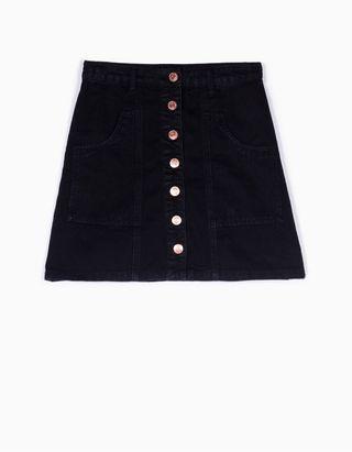 Falda negra botones de segunda mano en la provincia de Valencia en ... 1c090c891fa0
