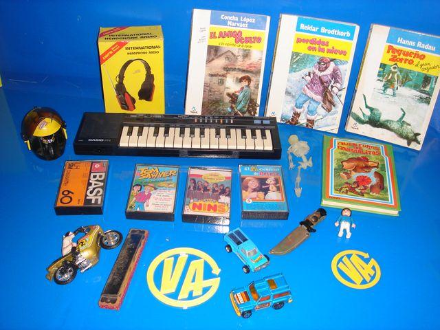 coleccionismo-articulos años 80 infancia-vintage