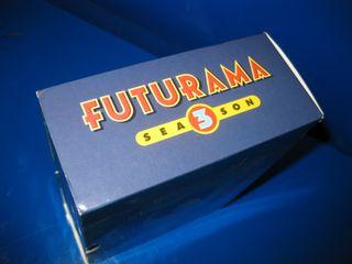 Pelicula DVD - FUTURAMA temporada 3