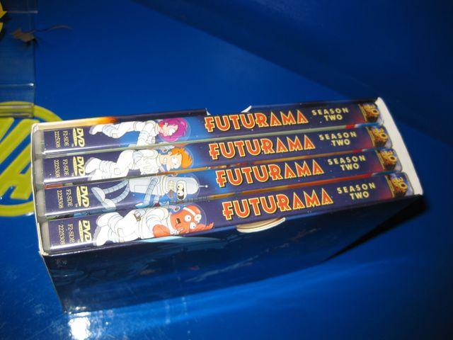 Pelicula DVD - FUTURAMA temporada 1