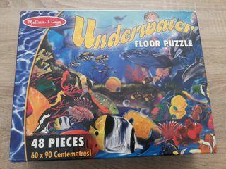 puzzle de suelo