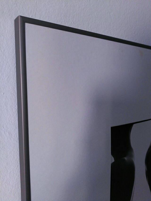 3 marcos, cuadros, 50cm x 61 cm. paspartu biselado de segunda mano ...