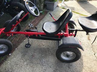 Car o quad a pedales 2 plazas