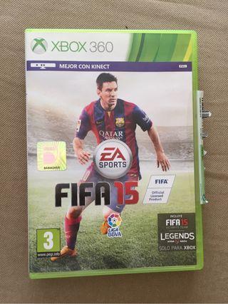 FIFA 15 - Juego xbox 360