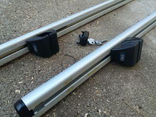 barras para baul coche
