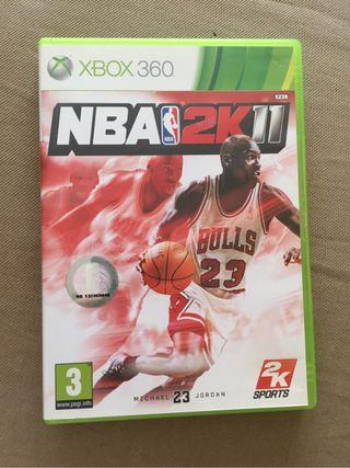 NBA 2K11 - juego Xbox 360