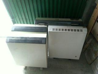 3 radiadores acumuladores calefacción.Buen estado