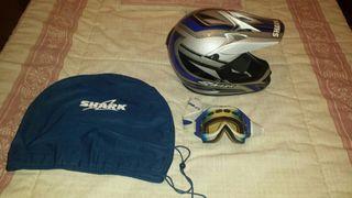 casco de moto cros