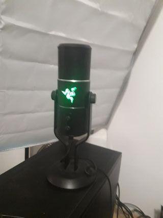 Micrófono razer seiren