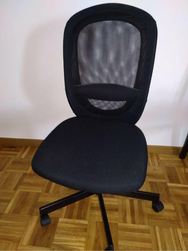 Silla giratoria de oficina IKEA FLINTAN de segunda mano por 40 € en ...