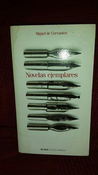Libro novelas ejemplares. Cervantes.