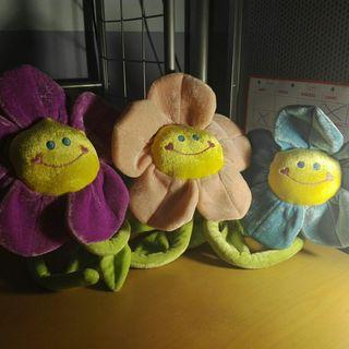 Flores de juguete
