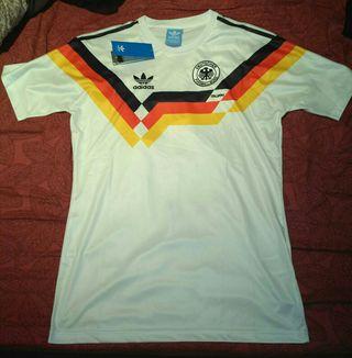 Camiseta fútbol Alemania 1990