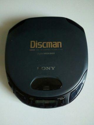 Discman Sony. Modelo: D-153