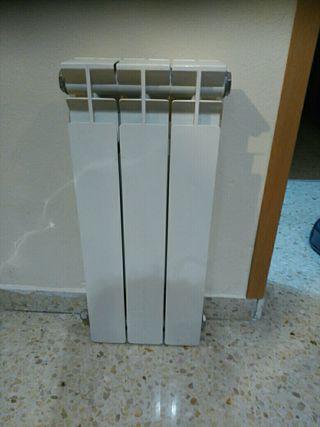 !!!!GANGA!!! 3 Cuerpos Radiador Calefacción a Gas.