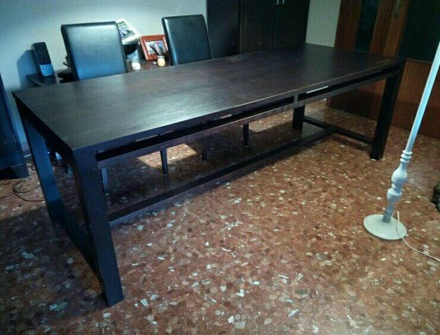Mesa comedor grande o mesa reuniones. de segunda mano por 75 € en ...