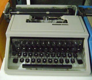 Máquinas de Escribir 2ª mano