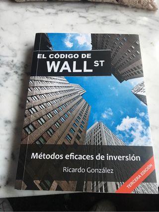 Libro El codigo de Wall St