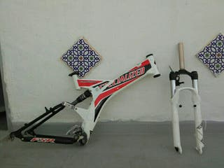 Cuadro bicicleta specialized y horquilla