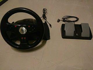 volante USB Logitech Racing wheel