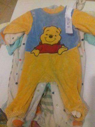 pijamas invierno bebe 3 meses