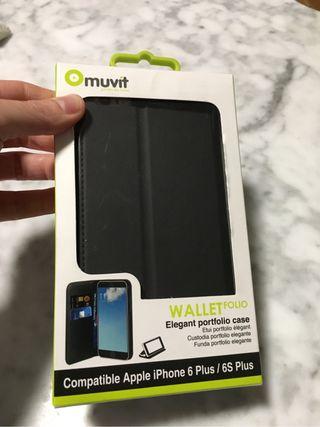 Funda iPhone 6 Plus/ 6S Plus. Muvit.