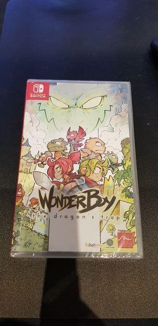 Wonderboy Nintendo Switch