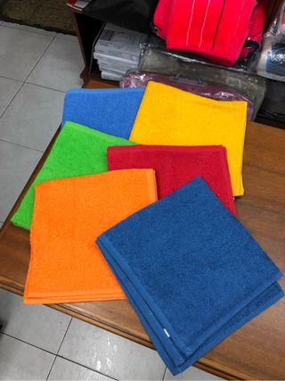 Paños lisos diferentes colores.Nuevos