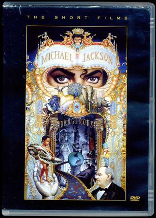 M JACKSON. RAREZA.Dangerous- The Short Films