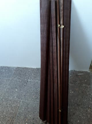 cortinas de madera