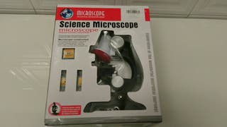 Microscopio nuevo infantil con luz x1200