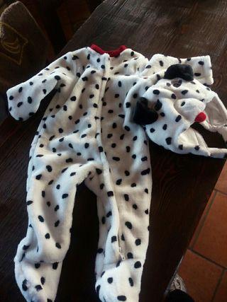 Disfraz bebé, niño perrito. 0-3 meses