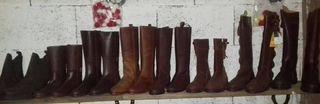 botas de cuero nuevas varios numeros