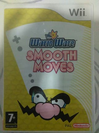 JUEGO PARA WII WARIO WARE Smooth Moves.