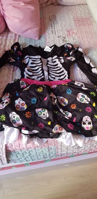 disfraz de ezqueleto