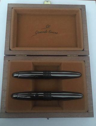 Juego de pluma y bolígrafo