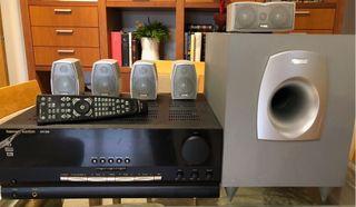 Amplificador y sistema 5.1 de sonido