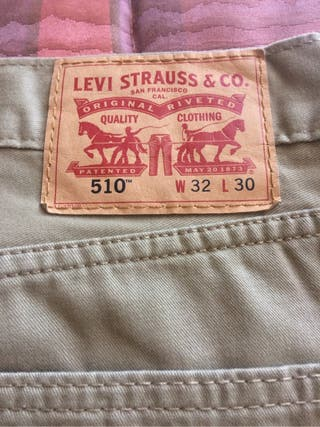 levis 510 w32 l32