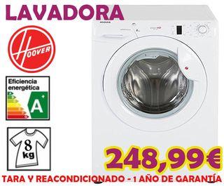 Lavadora Hoover VisionHD 8KG A+